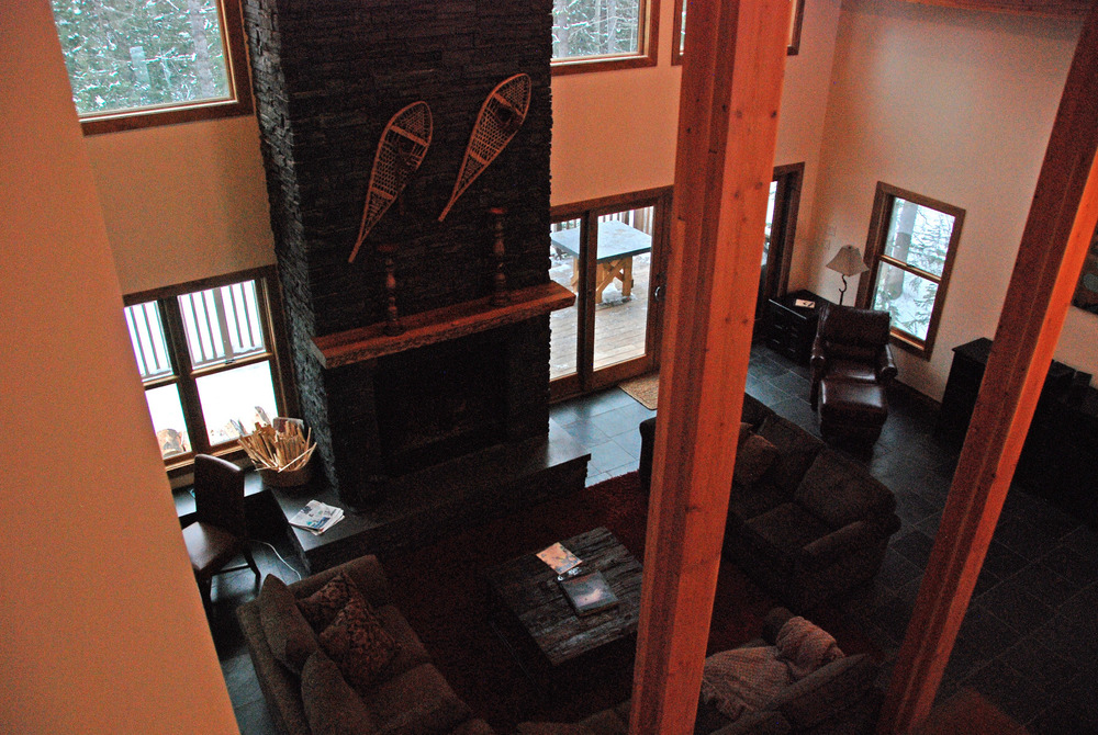 e is one of the vacation homes at Kicking Horse. Photo by Becky Lomax. 