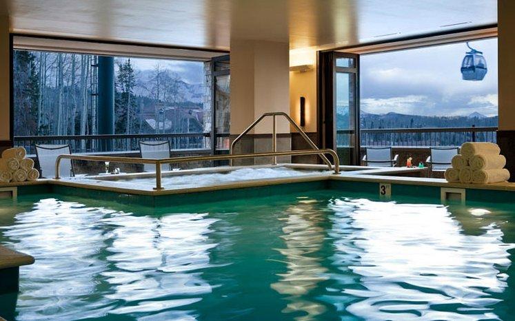 Spa Linnea pool - ©Hotel Madeline Telluride