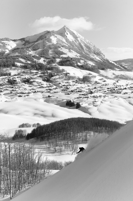 Jayson Simon Jones in the Crested Butte back country