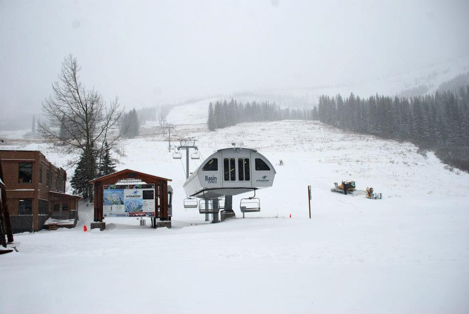 Winter Storm Brutus hit Idaho's Schweitzer Mountain. Photo: Schweitzer/Facebook