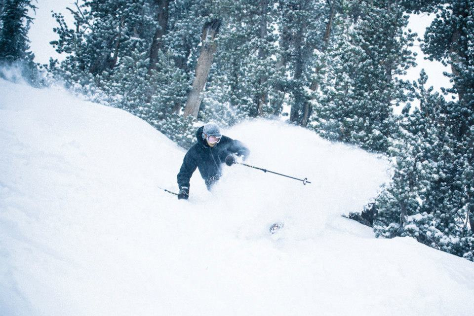 Powder from Winter Storm Brutus for Opening Weekend at Mammoth Mountain. Photo:Mammoth Mountain/Facebook