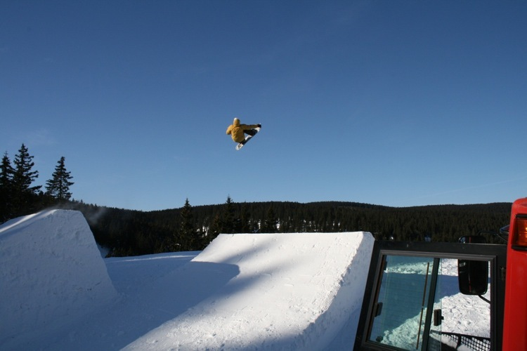 Rogla snowpark (copyright: Schneestern)