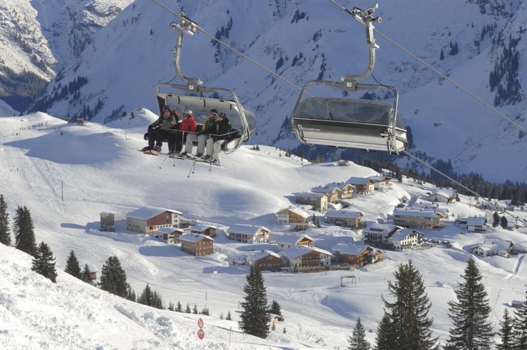 Oberlech, Arlberg ski area - ©Oberlech