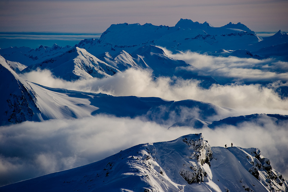 While Whistler Blackcomb's inbounds tree skiing and alpine terrain are exceptional in North America, it's vast lift-accessible backcountry is the smoking gun proving it's spot amongst the world's best ski locations.