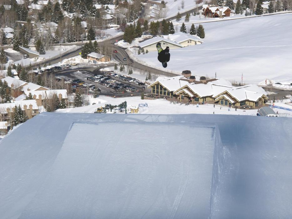 Dollar Mountain at Sun Valley now contains several terrain parks. Photo courtesy of Sun Valley Resort.