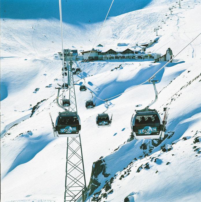Super modern lifts in Sölden - ©Österreich Werbung/ OEW-Bildarchiv