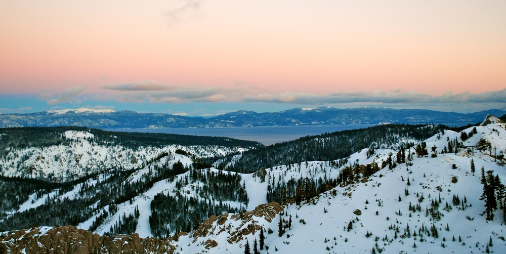 View from The Terrace at Squaw Valley - ©Squaw Valley