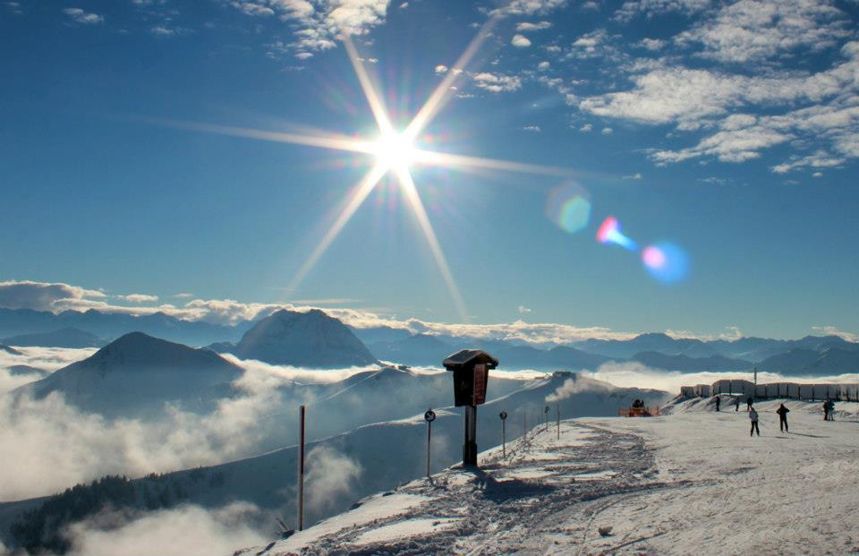Snow and sunshine in Kitzbuehel. Dec. 1, 2012 - ©Kitzbühel