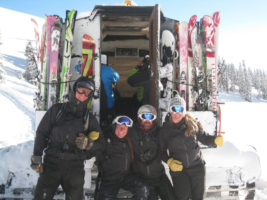 The Vail Powder Guides crew. - ©Vail Powder Guides