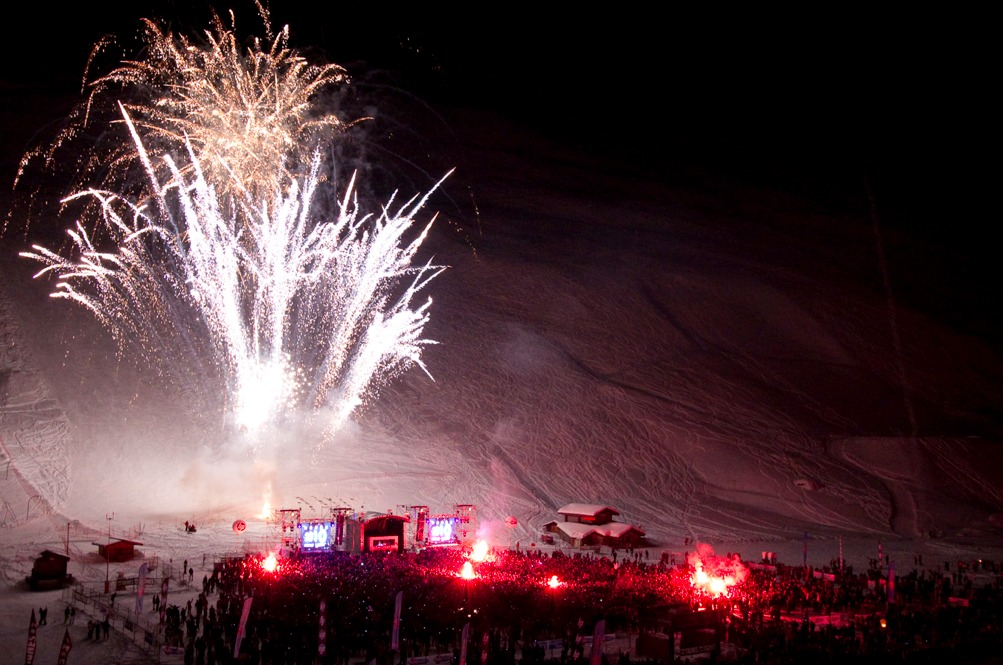New years eve Tignes