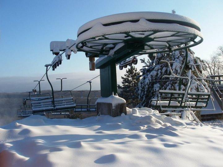 Wild Mountain snowfall