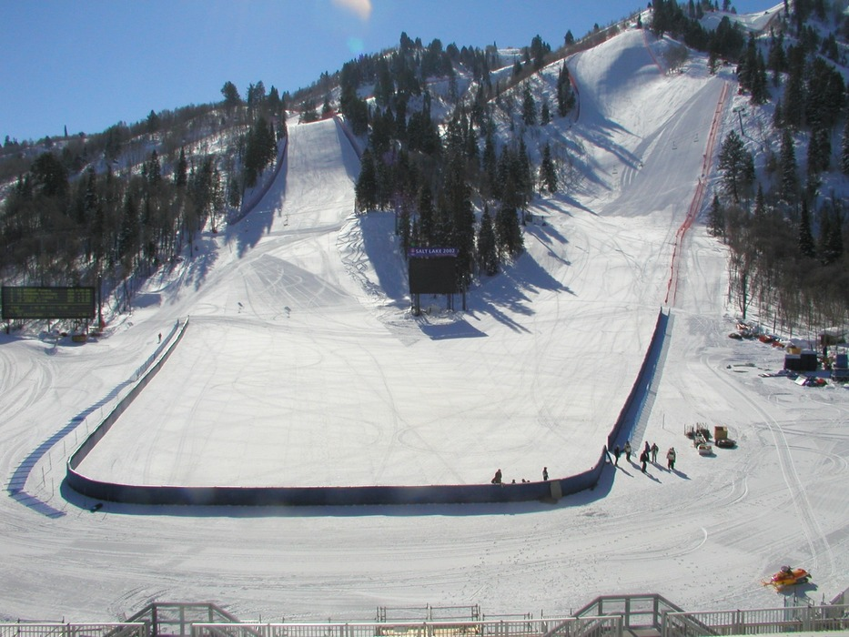 2002 Winter Olympics at Snowbasin - ©Snowbasin: A Sun Valley Resort
