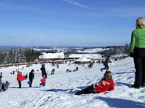 Baraque de Fraiture, Vielsalm, Belgium - ©  http://www.ski-baraque.be