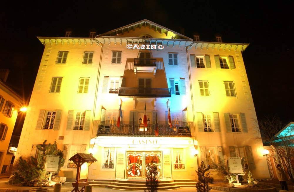 The 18th-century Casino Chamonix