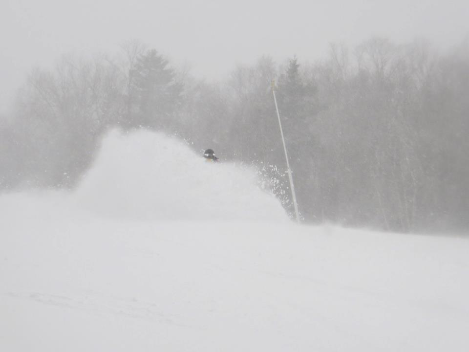 Deep powder day at Bretton Woods. 12/27/2012