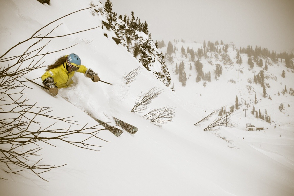 Skier and pro athlete Kaylin Richardson - ©Liam Doran