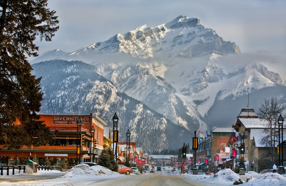 Plenty for shoppers and foodies in Banff