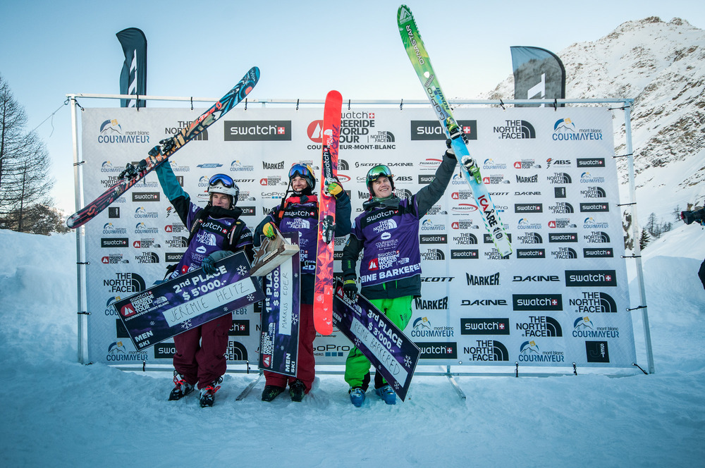 Freeride World Tour 2013 - Courmayeur - ©Freerideworldtour.com/ D. Carlier