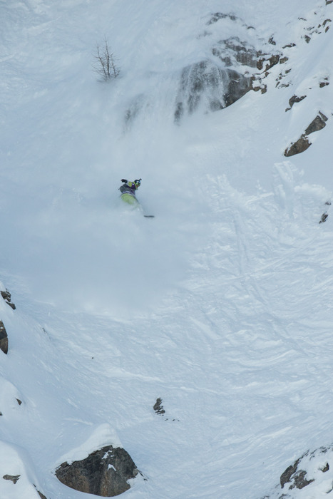 Freeride World Tour 2013 - Courmayeur - ©Freerideworldtour.com/ D. Aher