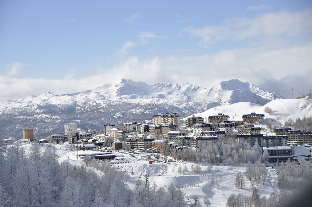 Sestriere, Via Lattea, Piemonte - Fresh snow Jan. 23 2013