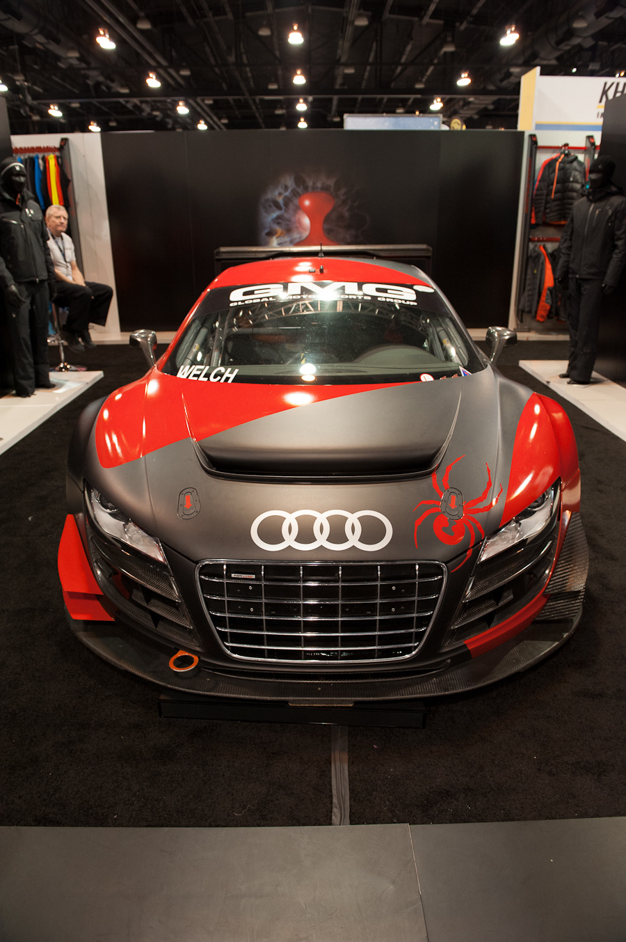 The awesome Spyder Audi.
