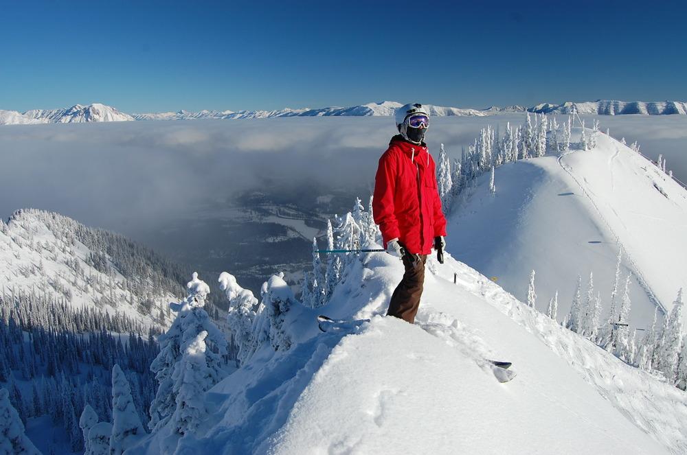 Ski patroller Steve Ruskay - ©Robin Siggers