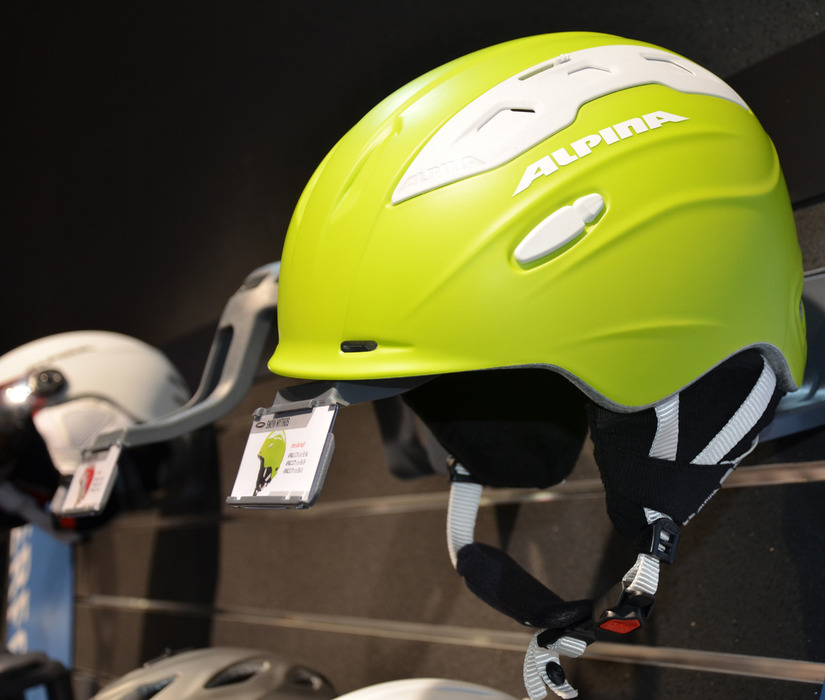 New Alpina helmets