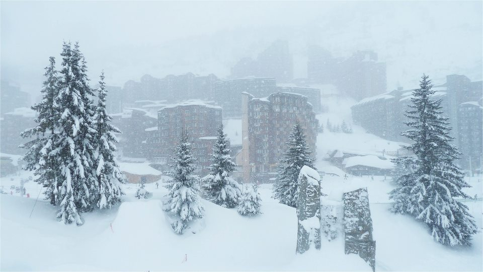 White out in Avoriaz. Feb. 6, 2013