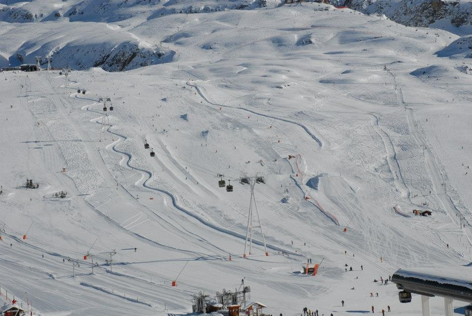 Alpe d'Huez snowpark