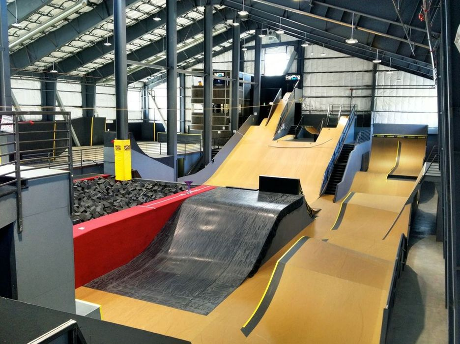Woodward Tahoe's 33,000 square foot training facility offers fun and excitement for all ages and ability levels.