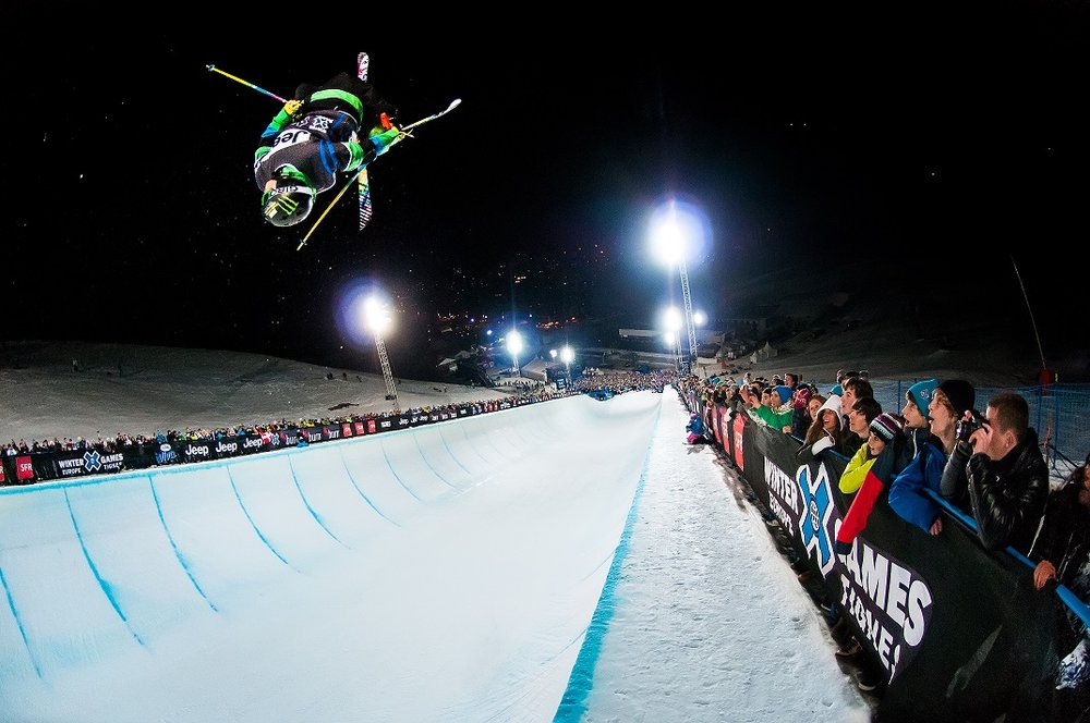 Night competition at Winter X Games Tignes 2012