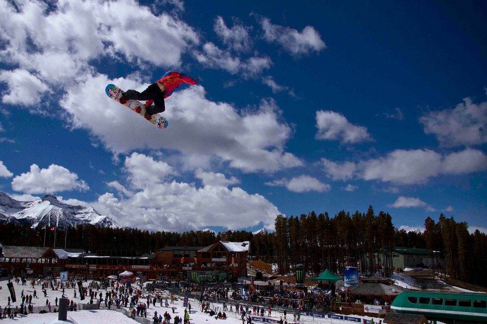 Monster Energy Ruckus in the Rockies at Lake Louise. Photo courtesy of Ski Big 3.