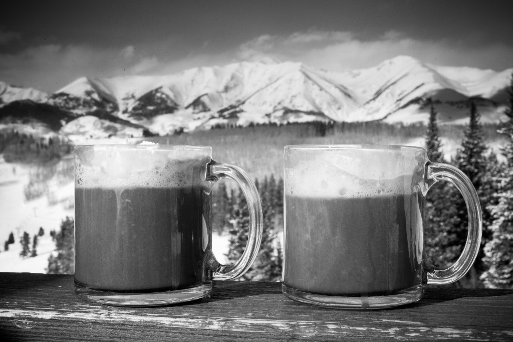 Mountains serve as the backdrop to these tasty treats at Crested Butte. - ©Jeff Cricco