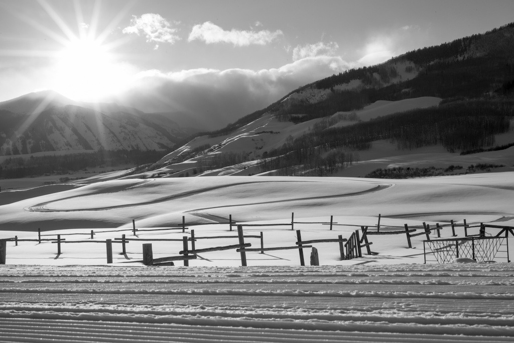 A view of the Crested Butte Nordic Cross Country Ski Area. - ©Jeff Cricco