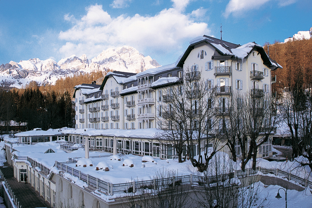 The luxurious Cristallo Palace Hotel and Spa in Cortina is a favorite destination for Hollywood's elite. - ©Cristallo Palace Hotel and Spa