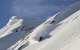 A skier makes new tracks at Sugar Bowl Ski Resort, California