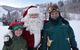 Santa and some helpers at Deer Valley, UT.