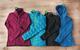 Women's Mid Layer: 1) Oakley PRS Stretch Fleece Jacket; 2) Marmot Safire Jacket; 3) Patagonia Piton Hybrid Jacket; 4) Spyder Stated Softshell Hybrid Light - ©Julia Vandenoever