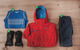 Women's Outfit #1: 1) Marmot Dawn Patrol; 2) Oakley Moving Pants; 3) Helly Hansen Warm Ice Crew; 4) Outdoor Research Ambit Gloves - ©Julia Vandenoever
