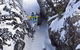 Justin Schiller skis through the Once is Enough Chute at Kirkwood. - ©Kirkwood Mountain Resort