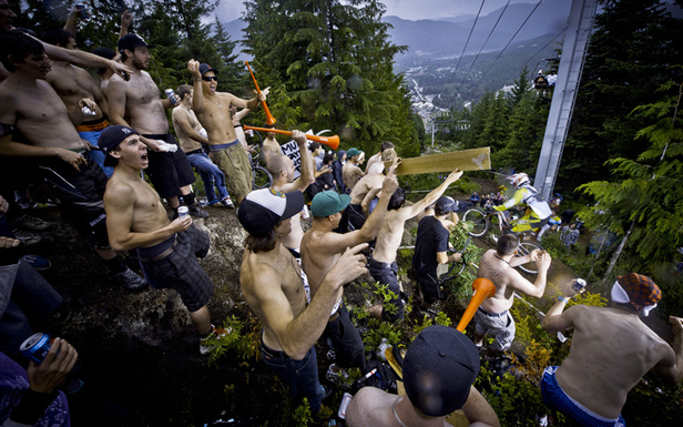 Head to Whistler Crankworx early to get a spot next to