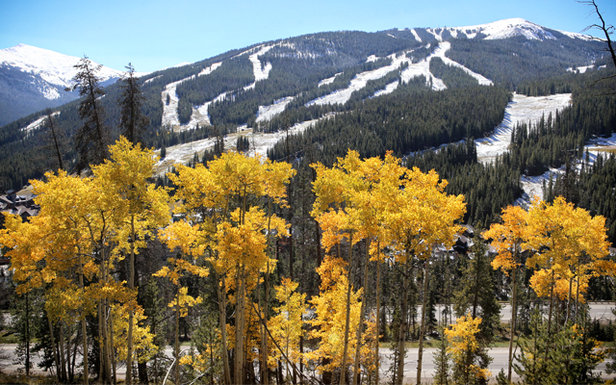 Copper Mountain sees snow