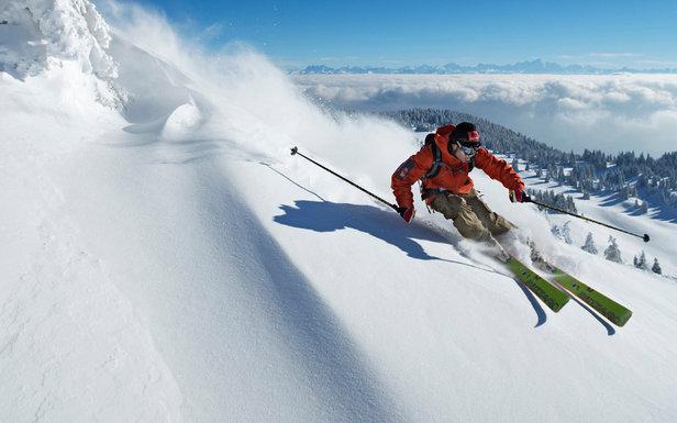 Ski hors piste les Rousses - ©Station des Rousses / S. Godin