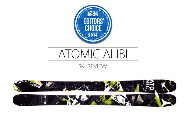 2014 Men's All-Mountain Editors' Choice Ski: Atomic Alibi