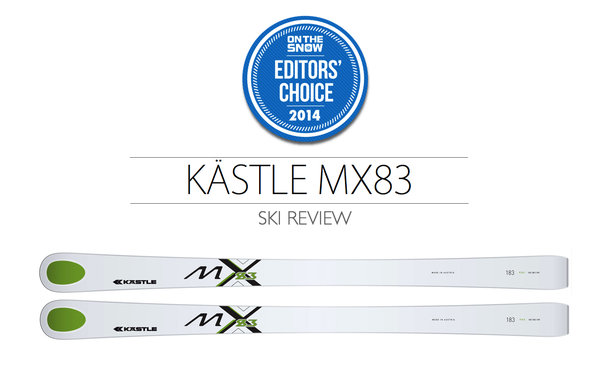 2014 Men Frontside Editor Choice Ski: Kästle MX83