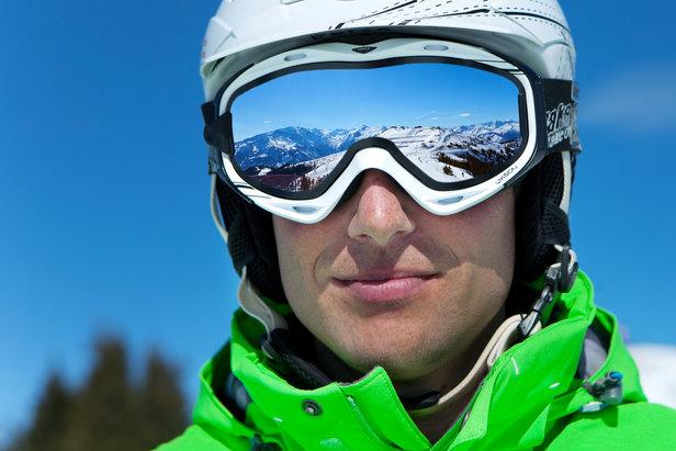 Skifahrer auf der Schmittenhöhe - ©Schmittenhöhebahn AG / Johannes Felsch