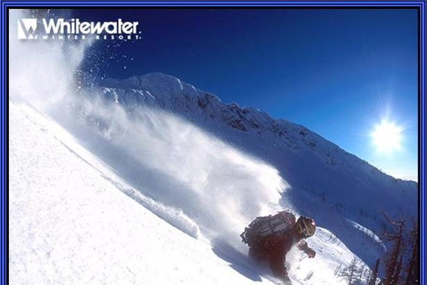 Whitewater Ski Resort powder skier