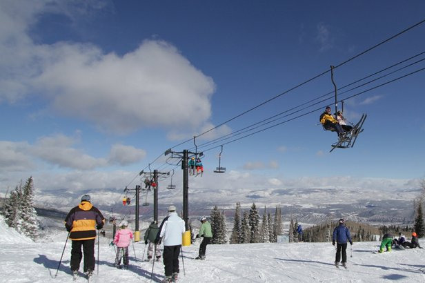 Blue Bird Days at Sunlight Mountain Resort - ©Sunlight Opens Early