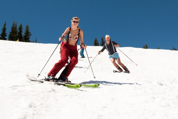 Perchè la Primavera è la stagione migliore per Sciare?