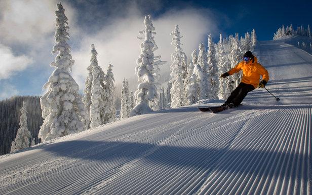 Mis à part sur les Pyrénées et dans les stations de haute altitude ds Alpes, il est bien difficile de trouver d'excellentes conditions de ski en ce début de saison - ©©heath